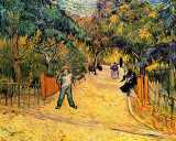 Play Jigsaw Puzzle: Entrance To The Public Park In Arles